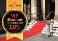 VIP-discount for reservation!