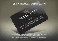 Regular Guest Card
